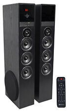 Tower Speaker Home Theater System w/Sub For LG UK6090PUA Television TV-Black