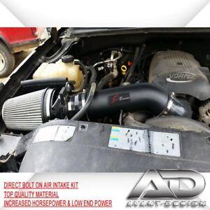 99-06 4.8L 5.3L 6.0L V8 SILVERADO 1500HD GMC SIERRA AF DYNAMIC COLD AIR INTAKE