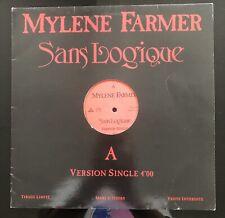 Vinyle Mylène Farmer - Sans Logique - Maxi 45 Tours Promo France