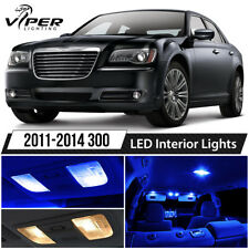2011-2014 Chrysler 300 Blue LED Interior Lights Package Kit