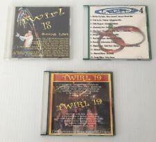 Lot 3 Twirl 4, 18 & 19 By DJ Steven Oliveri  (CD Audio ) FREE US SHIPPING!