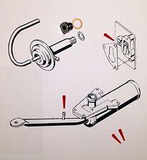 Saxonette Umbau-Set Schraube für Stilllegung des Dekoventil Dekompressionsventil