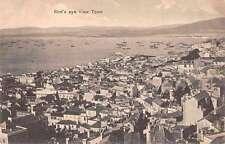 Tangier Morocco Birds Eye View Antique Postcard J61458