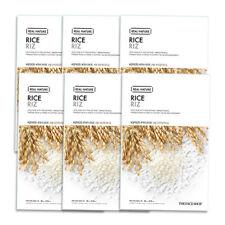 THE FACE SHOP Real Nature Mask Sheet 20g #Rice 6pcs Free gifts