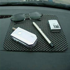 Auto Car Vehicle Anti Slip Dashboard Mat Pad Phone Coin Key Holder Black New XT