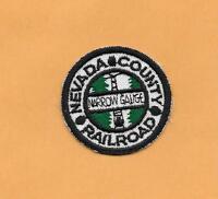 """NEVADA COUNTY RAILROAD RAILROAD PATCH 2 """" **"""