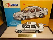 Mega Raro 1/43 Corgi Vanguards Ford Sierra Sapphire Rs Cosworth Blanco nla