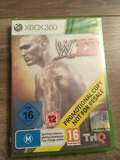 WWE W'12 Microsoft Xbox 360 - NEUF sous blister - promotional copy