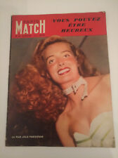 Paris-Match numero 18 23 juillet 1949