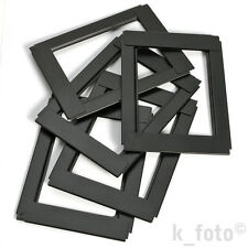 5 x Planfilm-Reduziereinlagen 6,5x9 auf 9x12 * reducers for sheet film holder