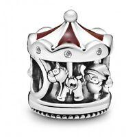 Christmas Carousel PANDORA Charm 925er Sterlingsilber 798435C01