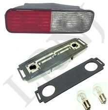 LAND ROVER DISCOVERY 2 COMPLETE REAR BUMPER LIGHT KIT RED /CLEAR RH PASSENGER