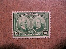 Canada 1927 #147 Laurier and Macdonald 12c green Mint VF Hinged