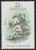 Australia Post - Design Set - MNH - Decimal - 1981 - The Gold Rush Era