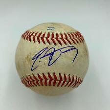 2010 Eric Hosmer Pre Rookie Signed Game Used Arizona Fall League Baseball MLB