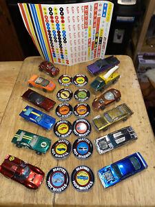 hot-wheels Redline Lot Cars Buttons Stickers Vintage Hot-wheels Redlines Lot