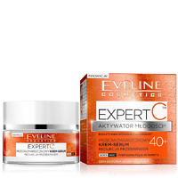 Eveline Expert C Youth Activator Anti Wrinkle Cream Serum 40+ Active Vitamin C