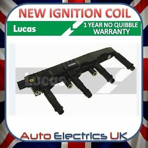 MERCEDES IGNITION COIL PACK NEW LUCAS OE QUALITY