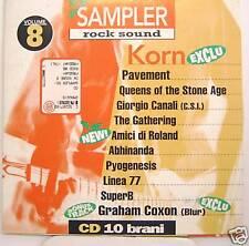 KORN-PAVEMENT-GIORGIO CANALI-LINEA 77 cd promo Italy