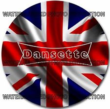 "Limited Edition DANSETTE Union Jack  7"" OR 10"" INCH Turntable / Platter MAT new"