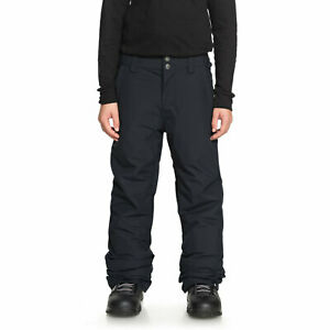 Quiksilver Boys Summer Youth Pant Black Fw 2019 New Snowboard Ski Trousers R