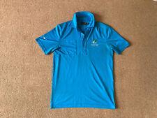 Mizuno Blue Golf Polo Shirt Size Medium