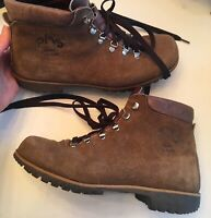 Vtg PMS PATONS BY CONTI HIKING OUTDOOR Leather BOOTS Mens Sz 42 US 8 Made ITALY
