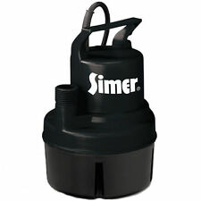 "Simer 11652 - 15 GPM (3/4"" or 1"") Oil-Free Submersible Multi-Purpose Utility ..."
