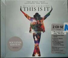 Michael Jackson - This Is It 2xDisc CD Souvenir Edition NEW Cat No. 88697606742