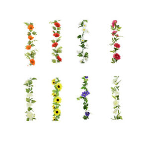Floralsilk - Faux Flower Garlands -  Daisy, Sunflower, Peony, Hydrangea etc