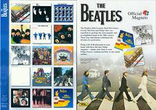 Beatles Magnete komplett 15 Stück in Folie verschweisst - neu