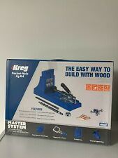Kreg K4MS Pockethole Jig Master System * Latest Mode * Free UK Postage