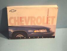 92 1992 Chevrolet Lumina owners manual