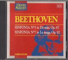 CD - FRATELLI FABBRI  I GRANDI MUSICISTI - BEETHOVEN