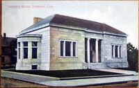 1919 Postcard: Torrington Library - Torrington, Connecticut CT