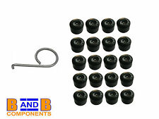 VW GOLF MK4 WHEEL BOLT COVER CAPS + REMOVAL TOOL A257