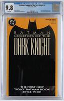 Batman Legends of the Dark Knight #1 CGC 9.8 NM/MT, white pages, Orange cover
