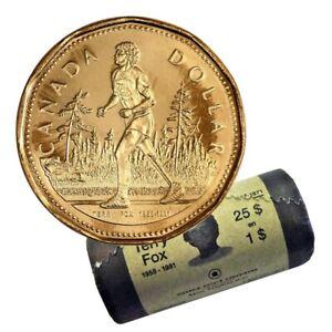 2005 Canadian $1 Terry Fox Marathon of Hope 25th Anniv Loonie Dollar From Mint