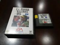 La Russa Baseball 95 (Sega Genesis, 1994) Cartridge and  case