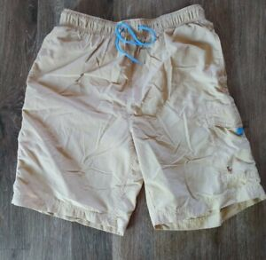 Polo by Ralph Lauren, Vintage Swim Trunks, Beige , Medium
