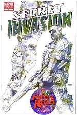 SECRET INVASION #3 1:75 STEVE MCNIVEN SKETCH VARIANT COVER (2008) MARVEL COMICS