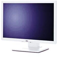 """TFT Monitor Fujiutsu 22"""" E22W-5 Weiß VGA DVI Refurbished #722508"""