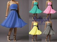NEU Damen Cocktailkleid Abendkleid Party Kleid Chiffon lila + SOFORT AH209L 36