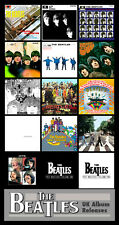 "BEATLES - UK ALBUMS discography magnet (4.5"" x 3.5"") fab four record artwork"