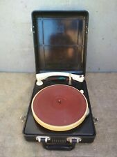 Vintage Turntable Electric Gramophone Record-player Of Vinil USSR Soviet