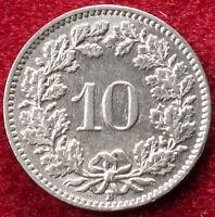 Switzerland 10 Rappen 1939