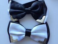 MEN Party Pre-tied Solid Formal Wedding Dance bow tie Necktie bowtie AU STOCK