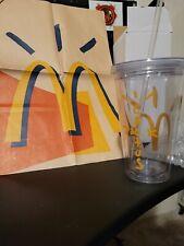 Travis Scott x McDonald's Cactus Jack CJ Arches Cup w Custom paper bag.
