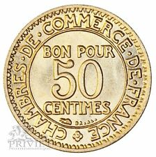 France / 50 centimes 1923 / Chambre du commerce / Non circulé