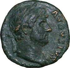 Lot 409: Hadrian Æ Semis. Rome, AD 125-128